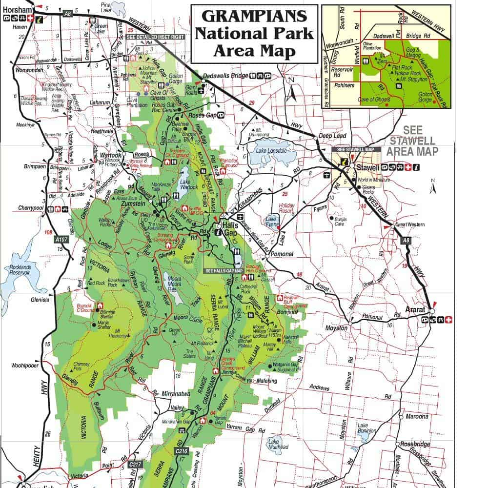 Grampians National Park Map1