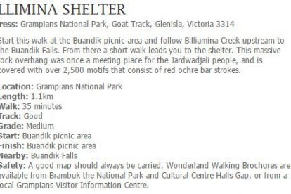 Billimina Shelter