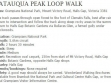 Chatauqua Peak Look Walk