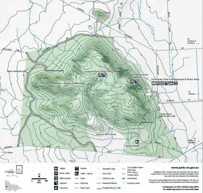 Mount-Arapiles-Map