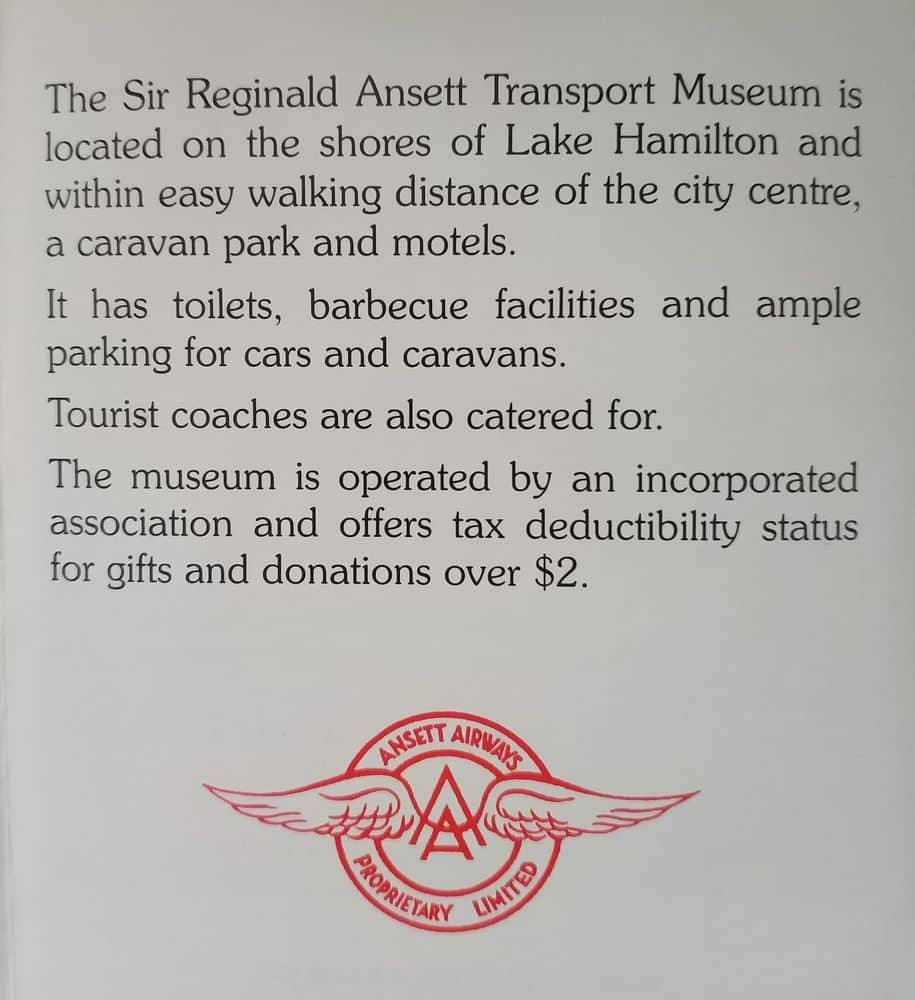 Sir Reginald Ansett Transport Museum 02