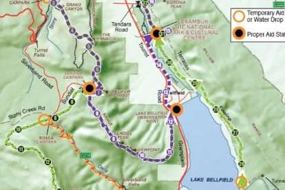 Sunday 20km and 36km Courses